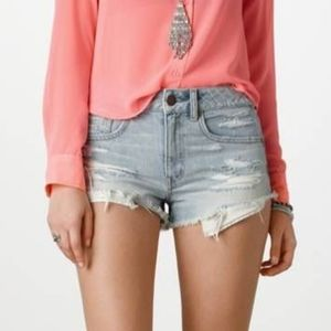 American Eagle High-Rise Festival Shortie Size 6